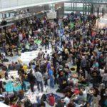 Bundesweite Fluglärmdemo am 24.3.2012